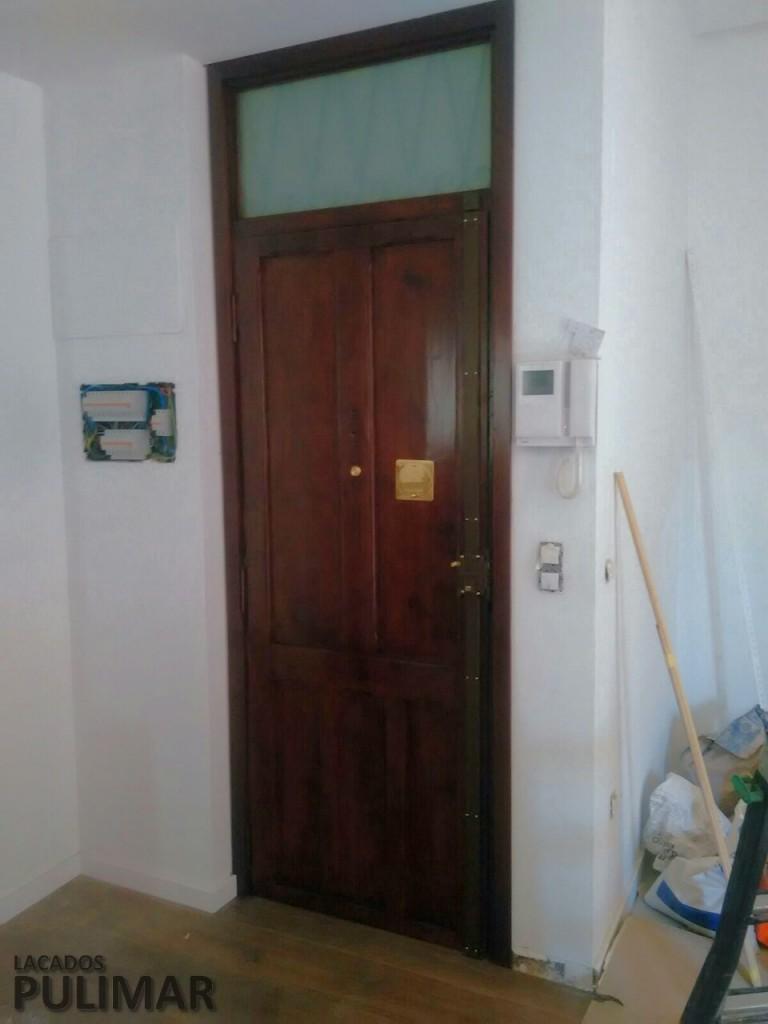 Restauraci n de puertas de interior y muebles antiguos for Puertas interior valencia