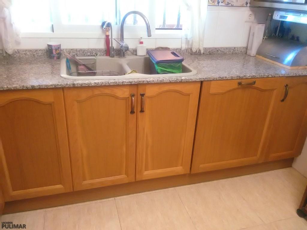 Lacado y barnizado de muebles de cocina valencia for Muebles de cocina valencia